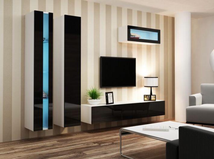 Artcam Obývacia stena Vigo II new biela-čierna