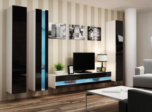 Artcam Obývacia stena Vigo VII new biela čierna