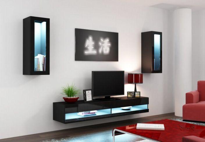 Artcam Obývacia stena Vigo XI new čierna-čierna