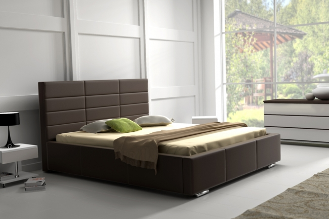 ArtMarz Manželská posteľ Mars Mars: 140 x 200 cm