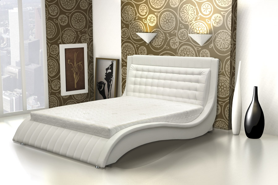 ArtMarz Manželská posteľ Kller Kller: 140 x 200 cm