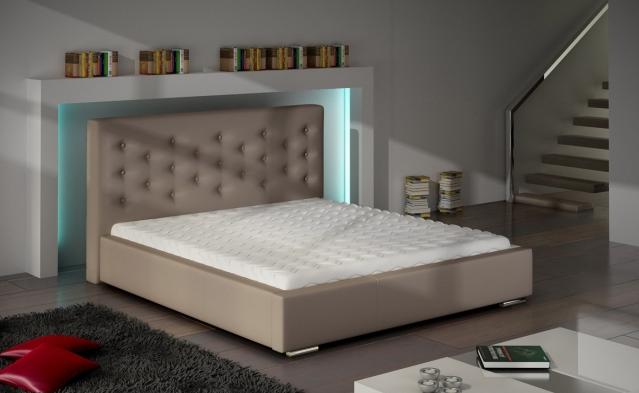 ArtMarz Manželská posteľ Savanna Savanna: 180 x 200 cm