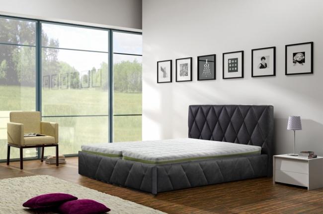 ArtMarz Manželská posteľ Trivio Trivio: 140 x 200 cm