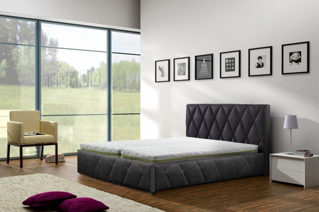 ArtMarz Manželská posteľ Trivio Trivio: 180 x 200 cm