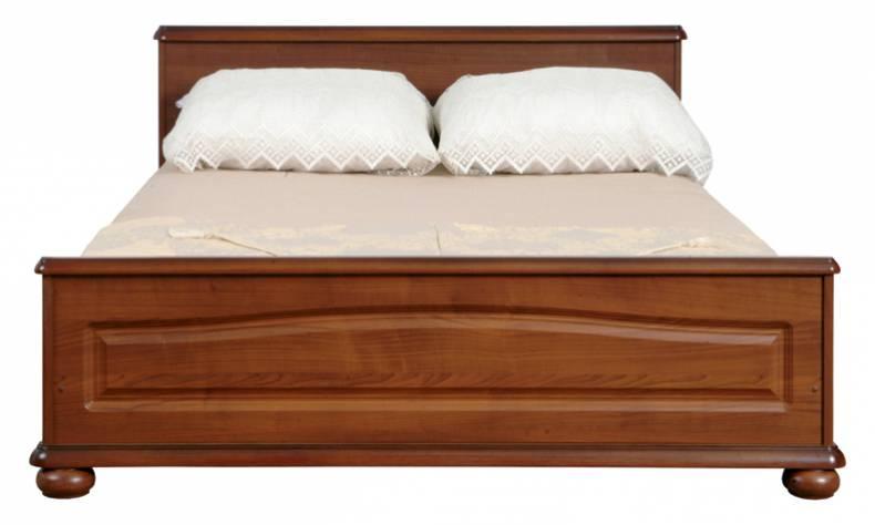 BRW Manželská posteľ Natalia LOZ 160 Farba: višňa primavera