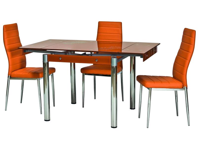 Signal Jedálenský stôl GD-082 oranžový