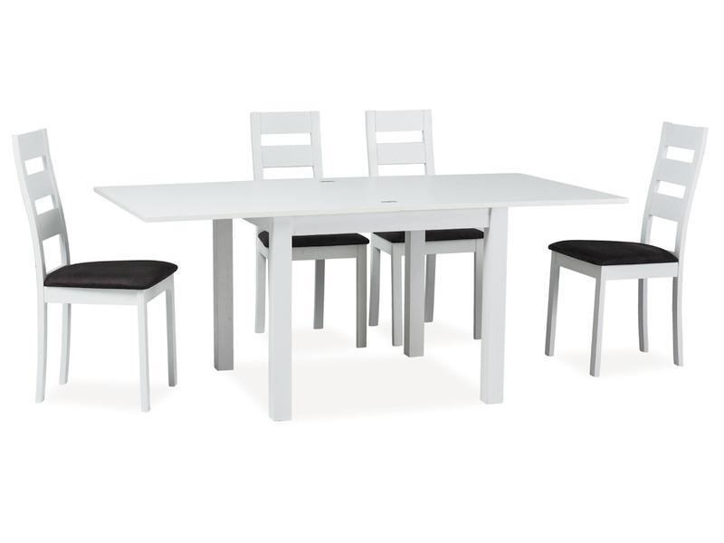 Signal Jedálenský stôl VENTO Farba: Biela