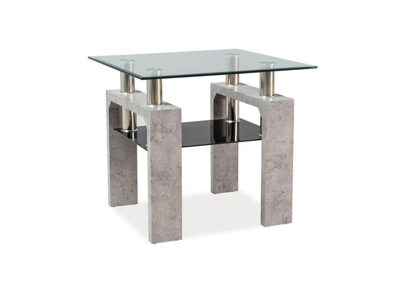 Signal Konferenčný stolík LISA D Farba: beton