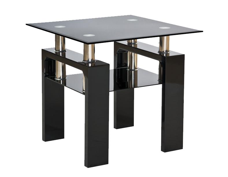 Signal Konferenčný stolík LISA D Farba: Čierna