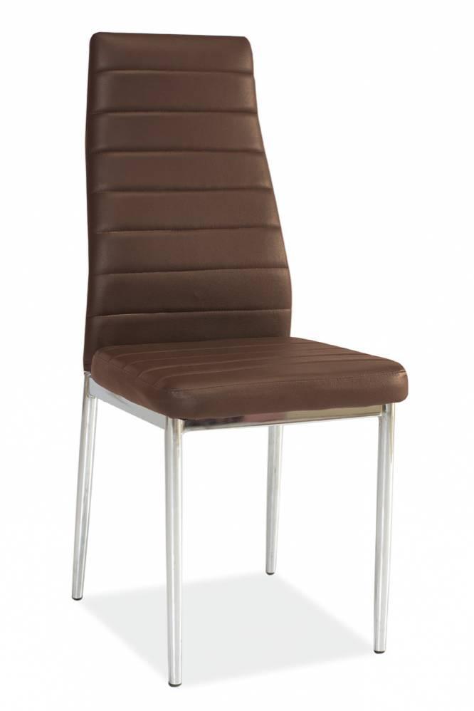 Jedálenská stolička H-261 hnedá
