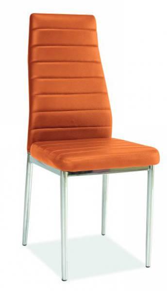 Jedálenská stolička H-261 oranžová