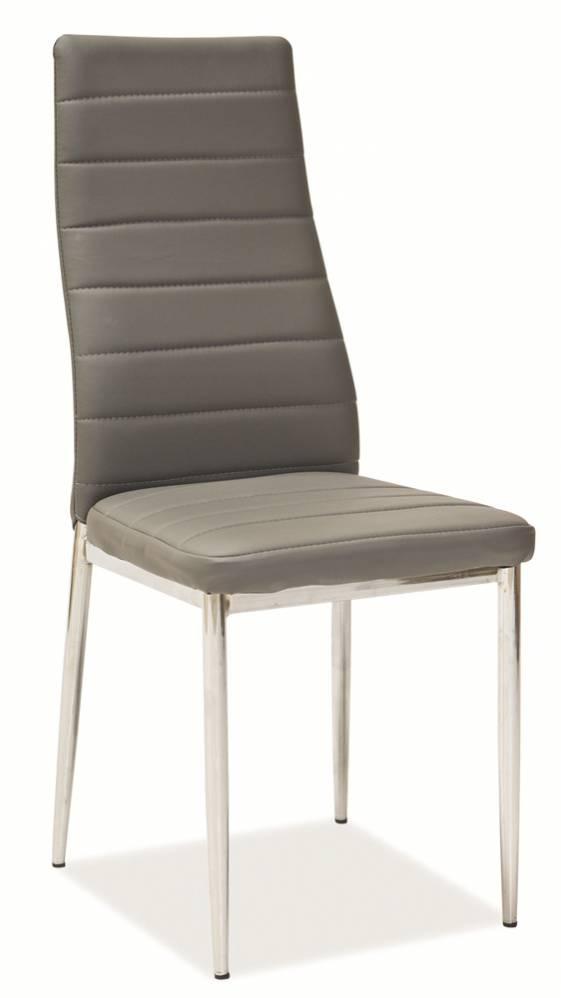 Jedálenská stolička H-261 sivá