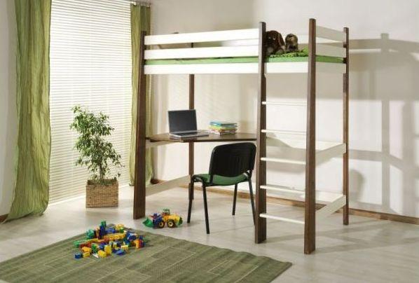 ArtBed Detská poschodová posteľ Milosz Prevedenie: Borovica prírodná