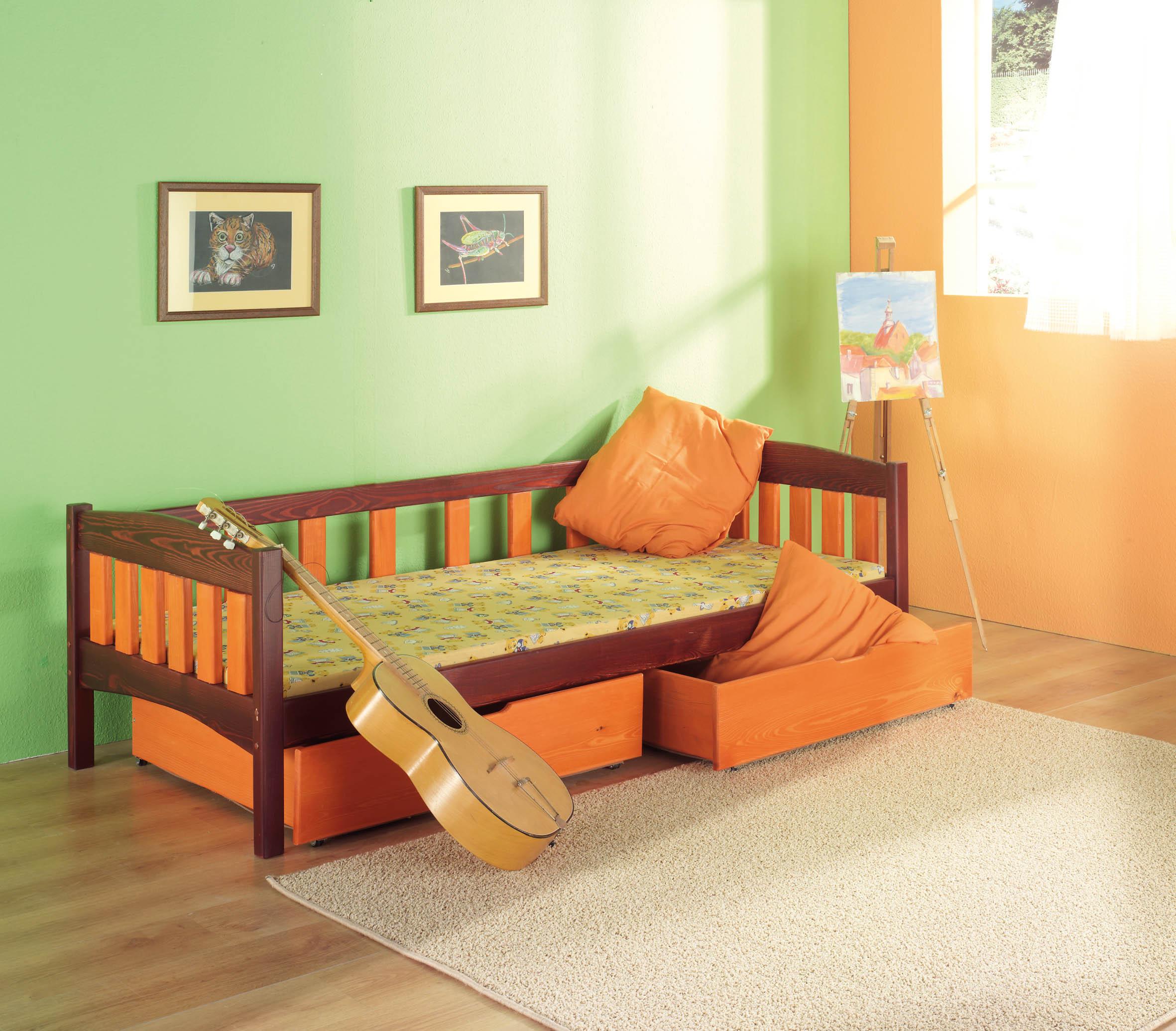 ArtBed Detská posteľ Zuzanna Prevedenie: Borovica prírodná