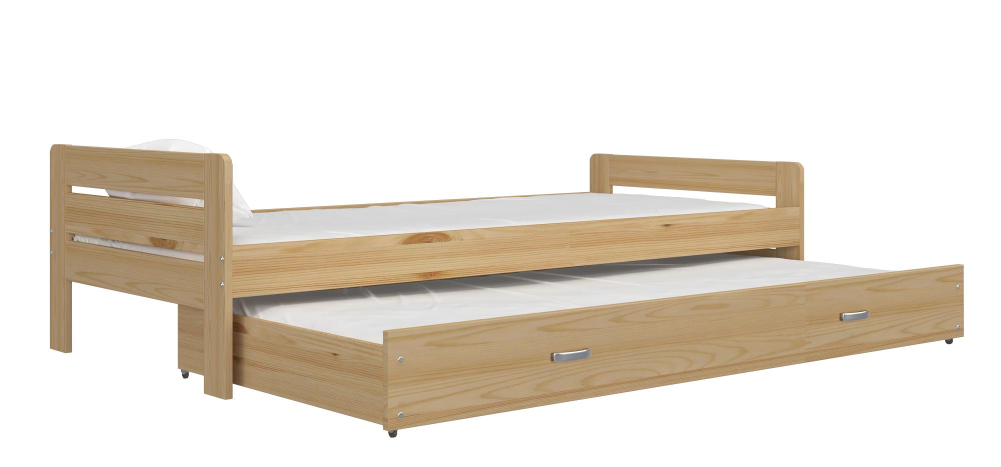 ArtAJ Detská posteľ Ben Farba: Borovica, Typ: bez matraca