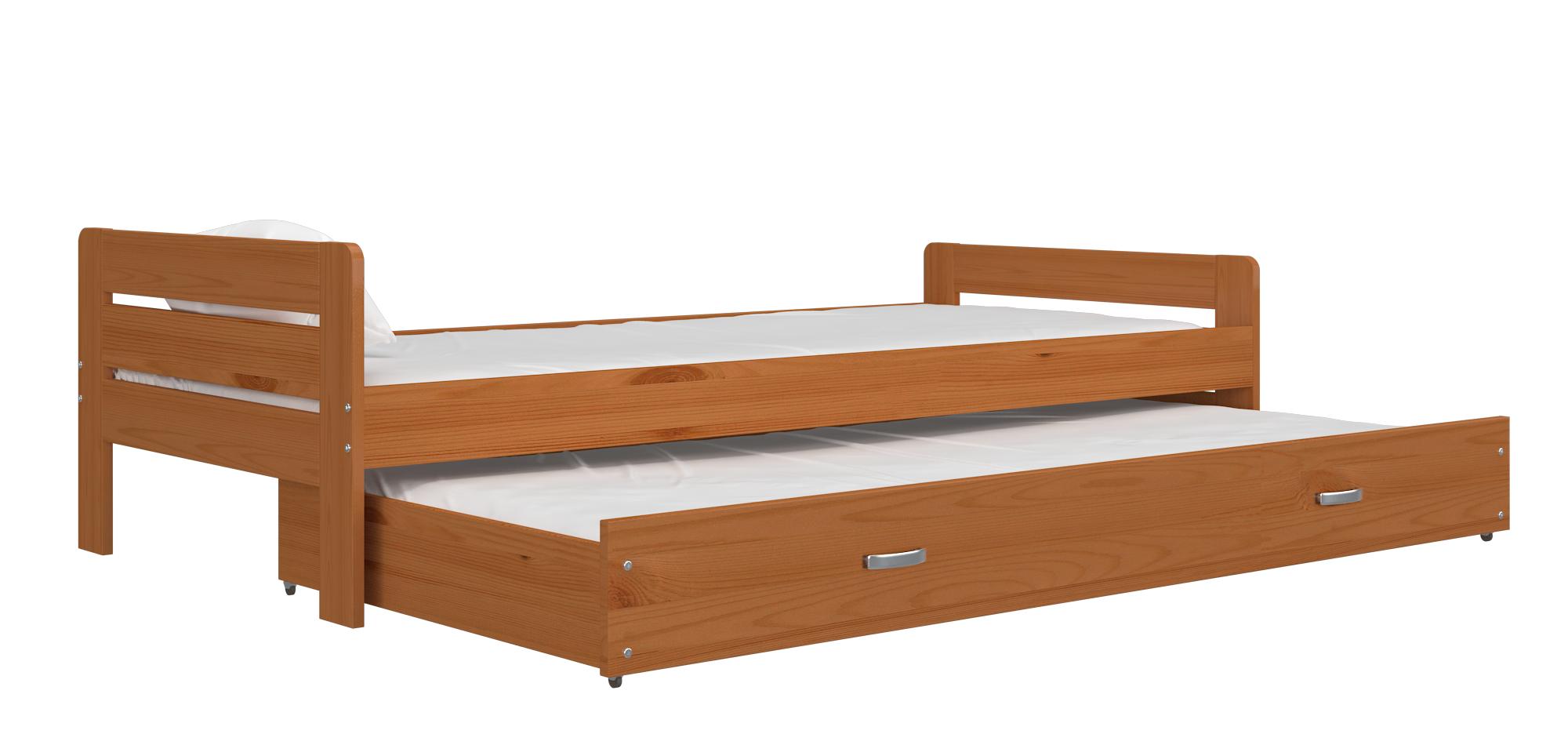 ArtAJ Detská posteľ Ben Farba: Jelša, Typ: bez matraca