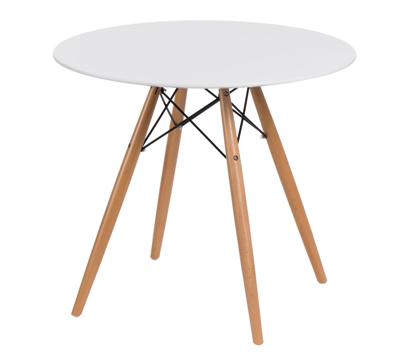Stolík DTW nízky 60cm biely Prevedenie: Stôl DTW - 80 cm