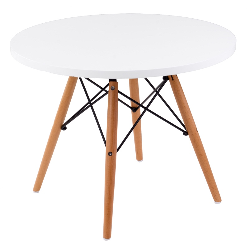 Stolík DTW nízky 60cm biely Prevedenie: Stôl DTW - 60 cm
