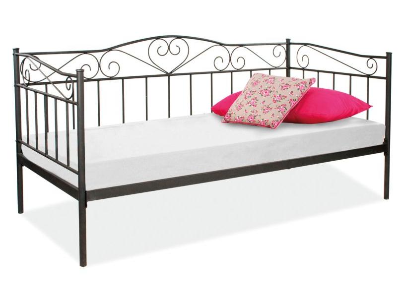 Signal Jednolôžková posteľ BIRMA Farba: Čierna