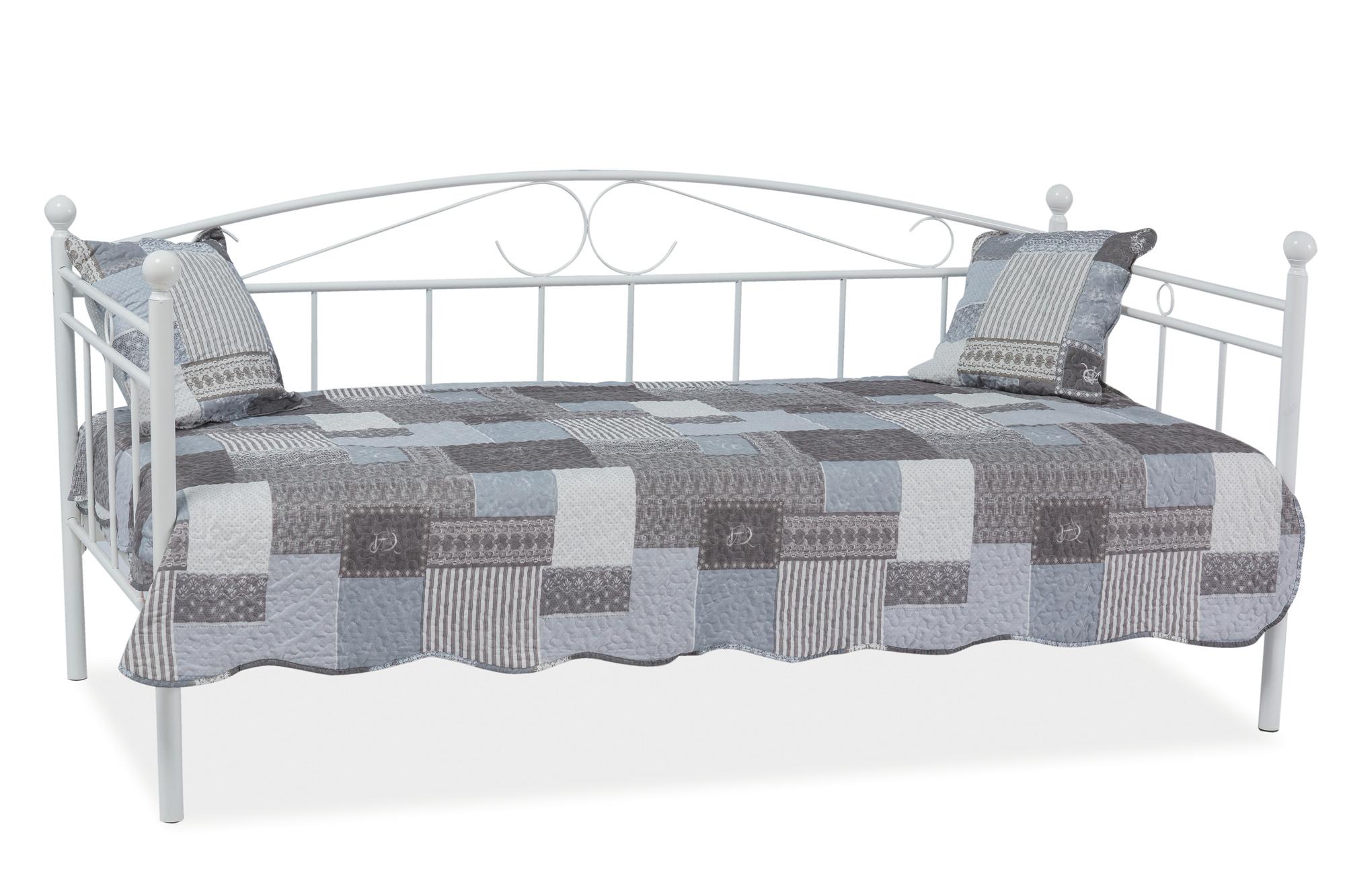 Signal Jednolôžková posteľ ANKARA Farba: Biela