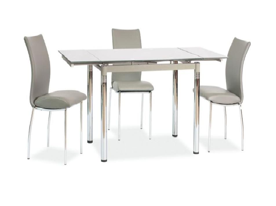 Signal Jedálenský stôl GD-018 Farba: Sivý jedálenský stôl