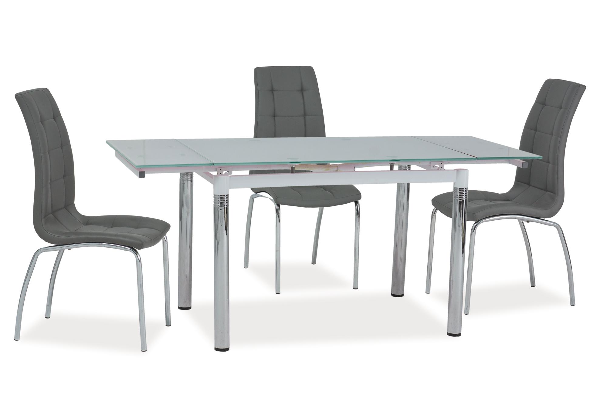 Signal Jedálenský stôl GD-018 Farba: Biely jedálenský stôl