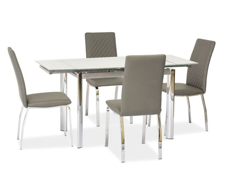 Signal Jedálenský stôl GD-019 Farba: Biely jedálenský stôl