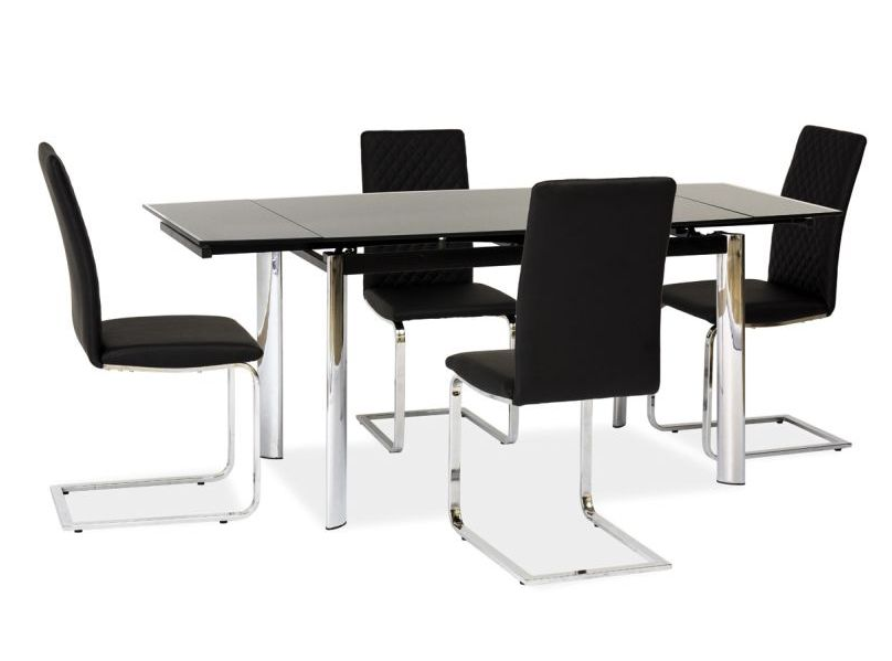 Signal Jedálenský stôl GD-020 Farba: Čierny jedálenský stôl