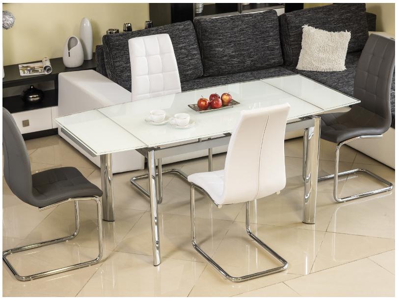 Signal Jedálenský stôl GD-020 Farba: Biely jedálenský stôl