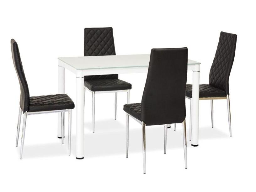 Signal Jedálenský stôl GALANT Farba: Biela