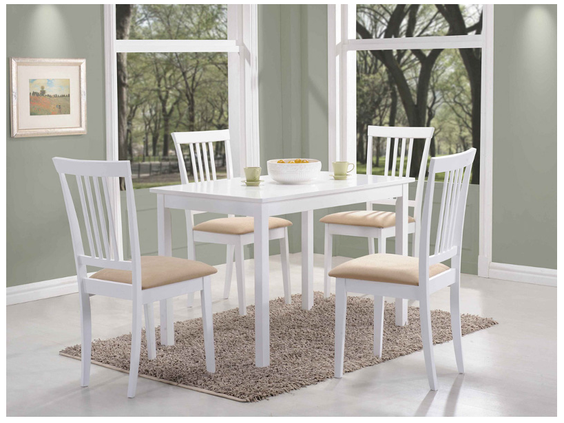 Signal Jedálenský stôl FIORD biela stoly: 74 x 70 x 110 cm