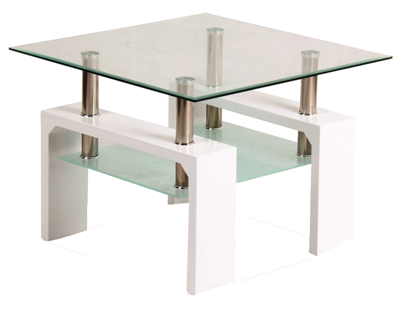 Signal Konferenčný stolík LISA D BASIC Farba: Biela/biely lak