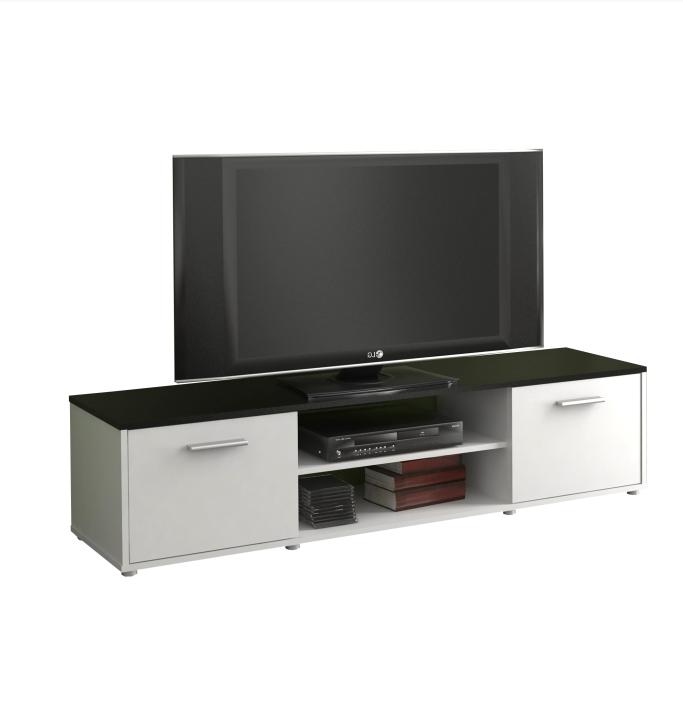 TV stolík ZUNO 01 Farba: Čierna/biela