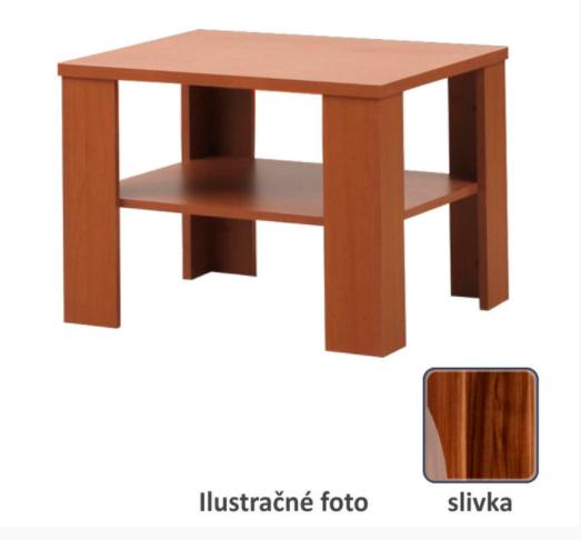 Tempo Kondela Konferenčný stolík INTERSYS 21 Farba: Slivka