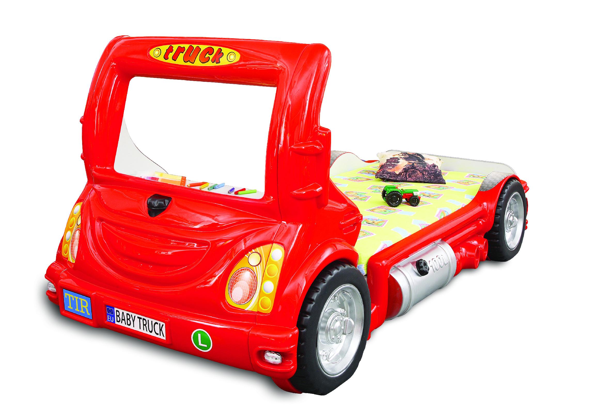 Detská posteľ Truck Farba: Červená