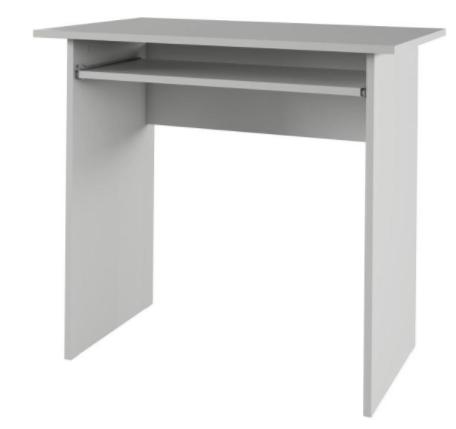 Tempo Kondela PC stôl VERNER Farba: Biela