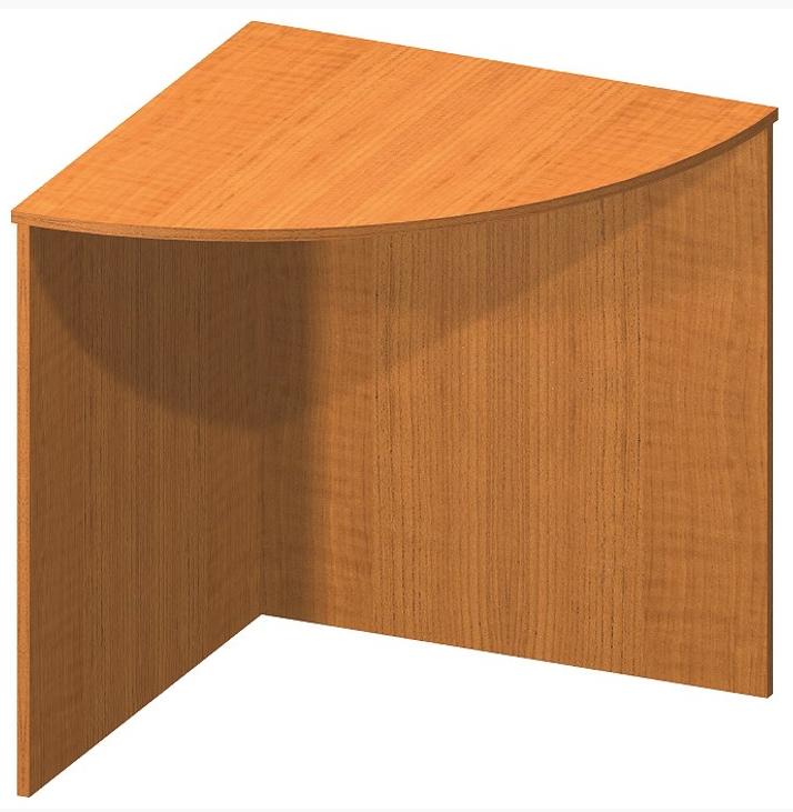 Tempo Kondela Rohový oblúkový stôl TEMPO ASISTENT NEW 024 Farba: Čerešňa