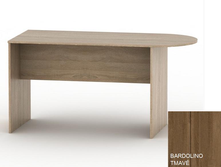 Tempo Kondela Kancelársky stôl TEMPO ASISTENT NEW 022 Farba: Bardolino tmavé