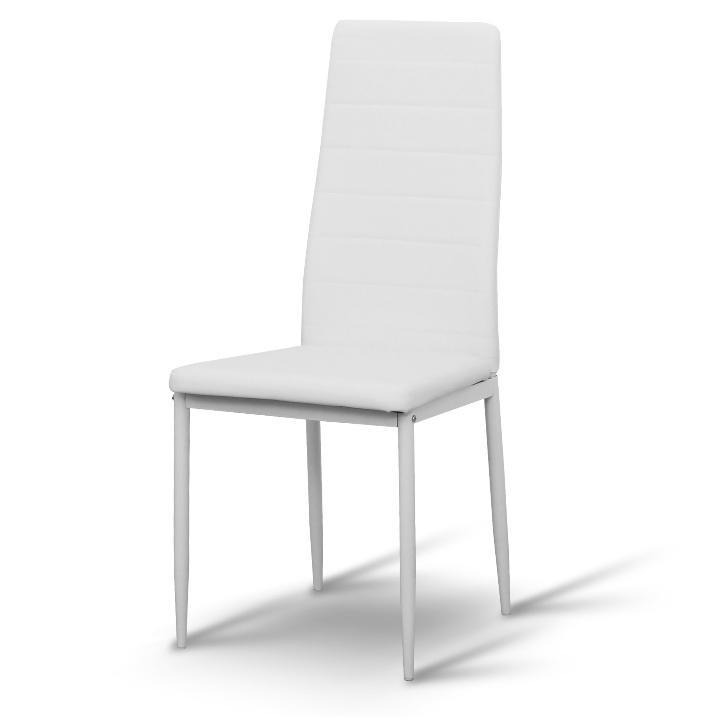 Tempo Kondela Jedálenská stolička COLETA NEW Farba: Biela