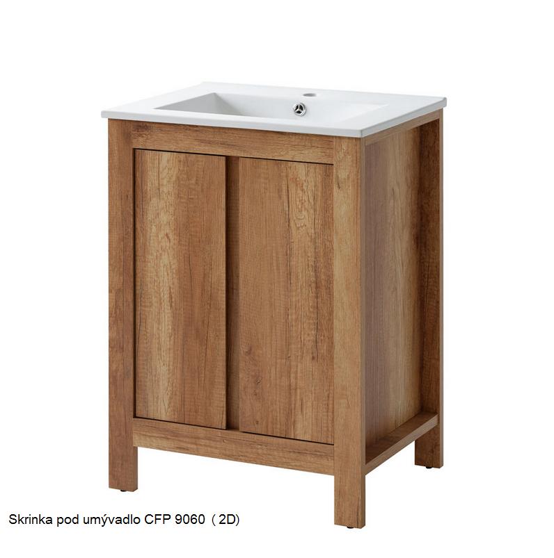 ArtCom Kúpelňová zostava CLASSIC Classic II: Skrinka pod umývadlo 820 / (ŠxVxH) 60 x 82 x 46 cm