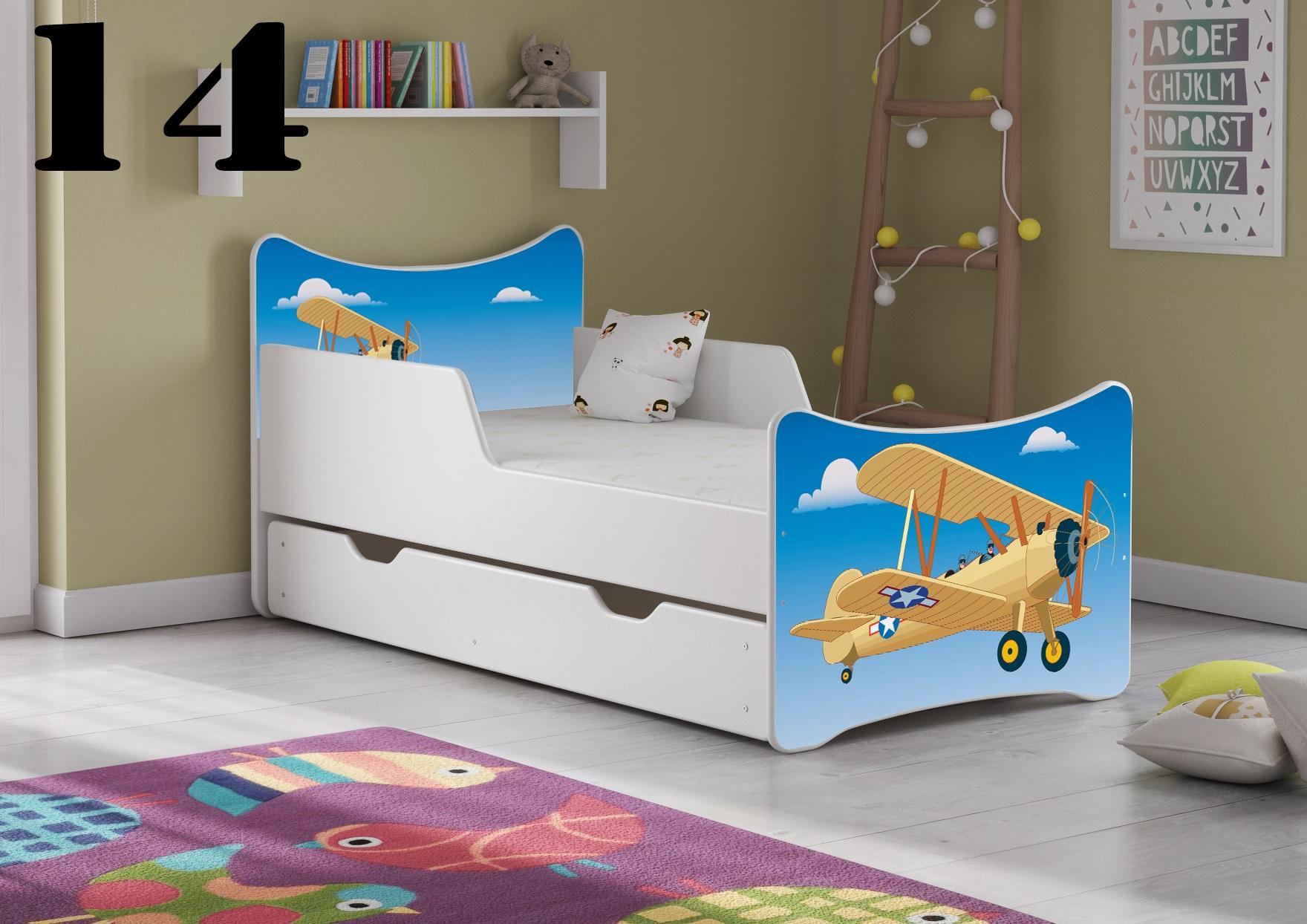 Detská posteľ SMB - chlapci Prevedenie: Obrázok č.14