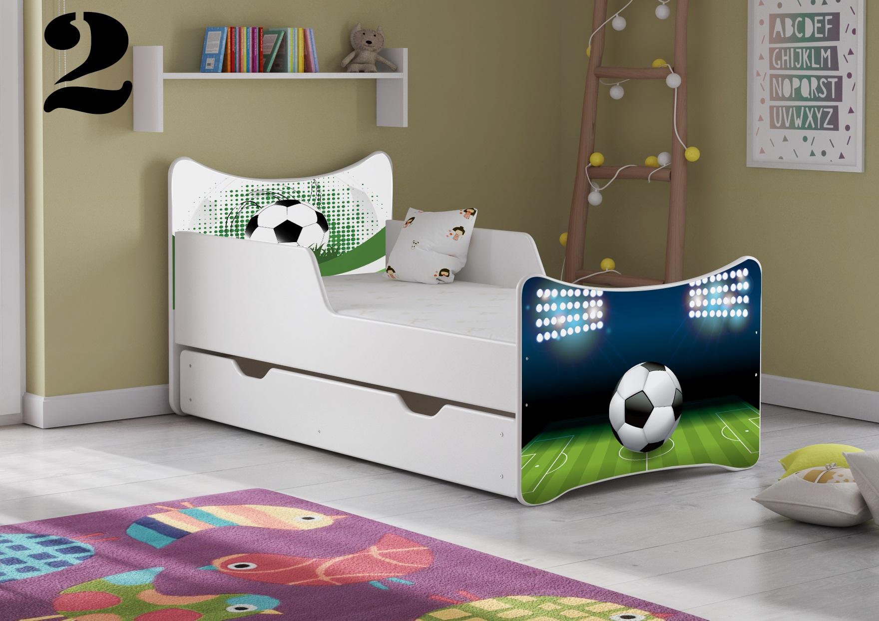 Detská posteľ SMB - chlapci Prevedenie: Obrázok č.2
