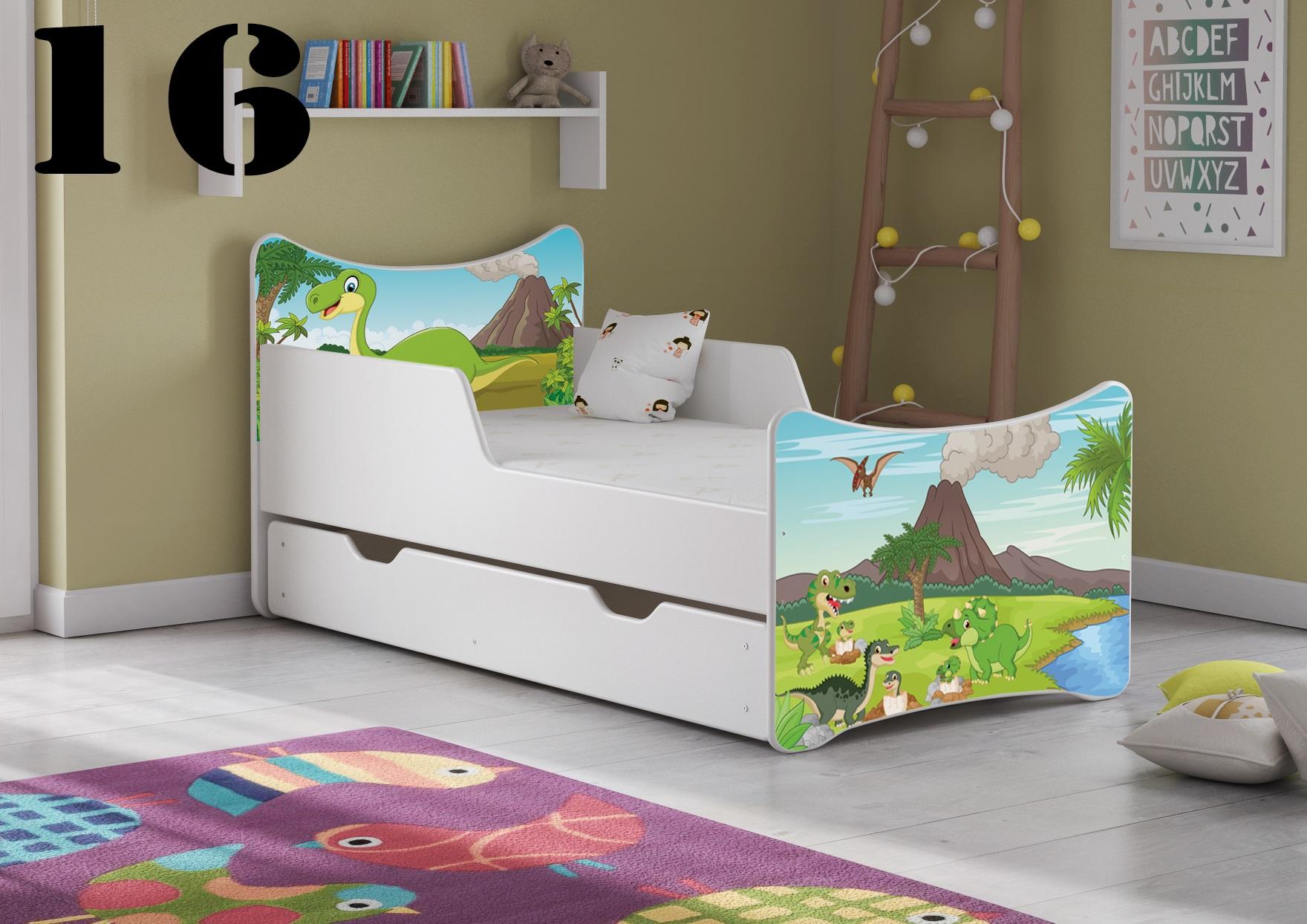 Detská posteľ SMB - zvieratá Prevedenie: Obrázok č.16