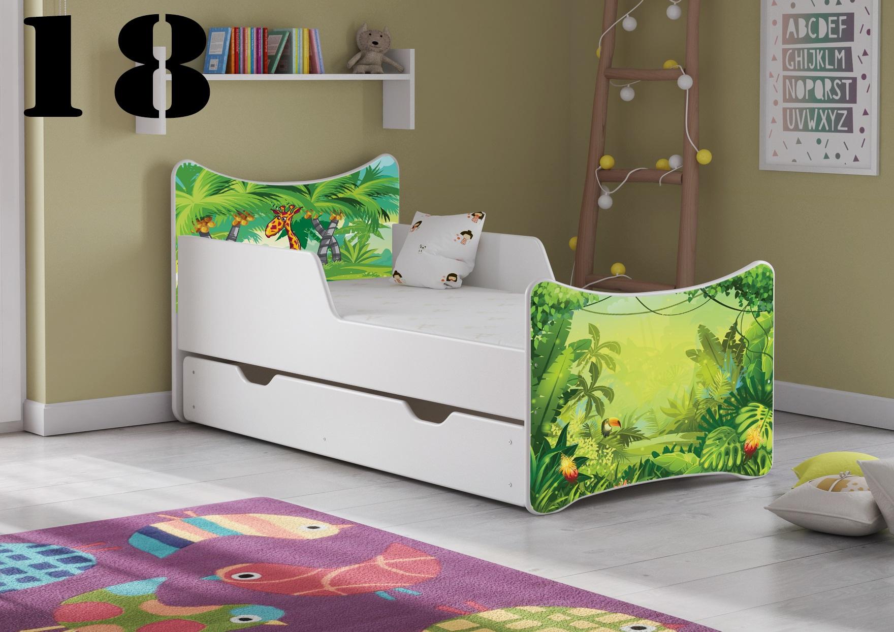 Detská posteľ SMB - zvieratá Prevedenie: Obrázok č.18
