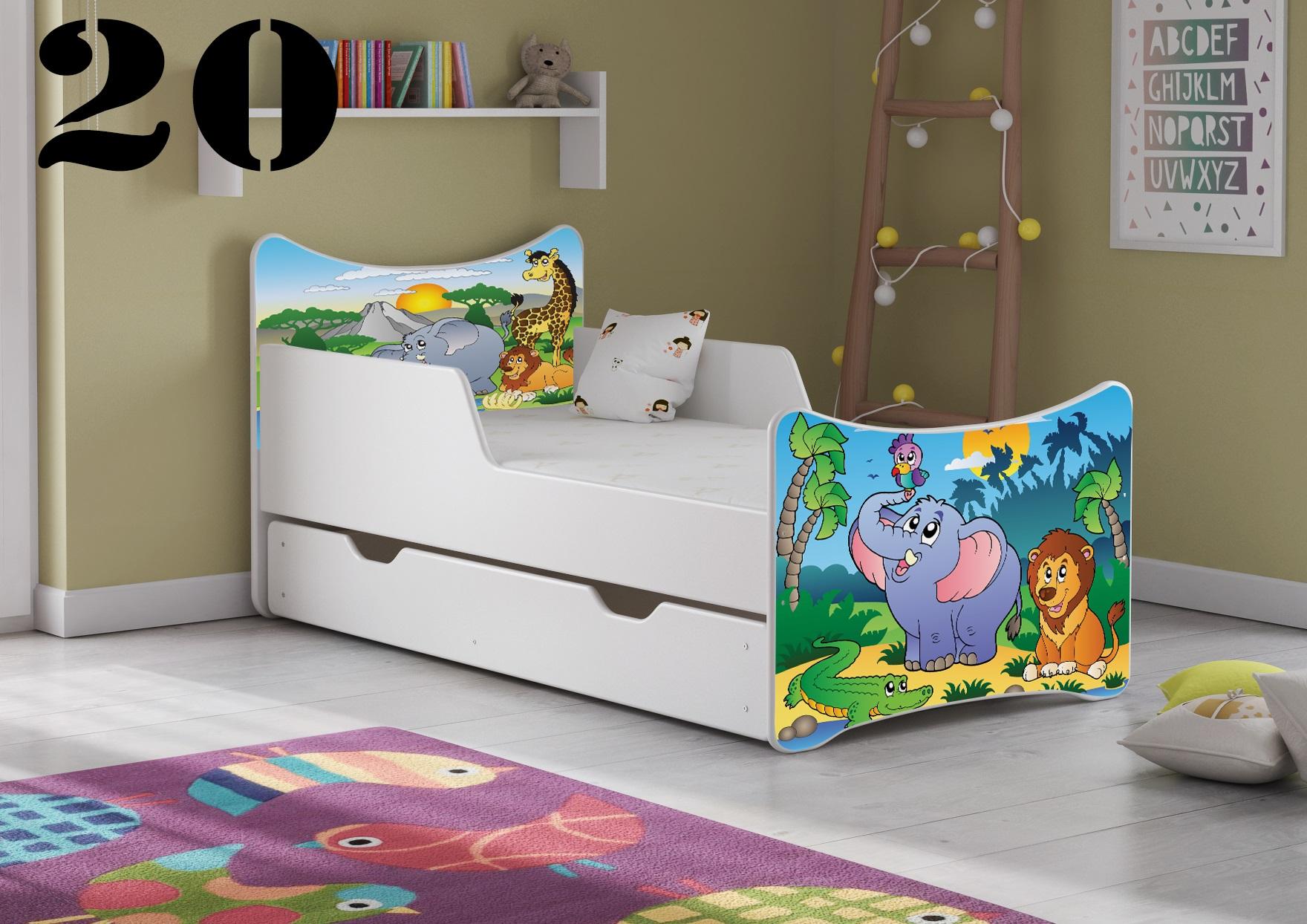 Detská posteľ SMB - zvieratá Prevedenie: Obrázok č.20