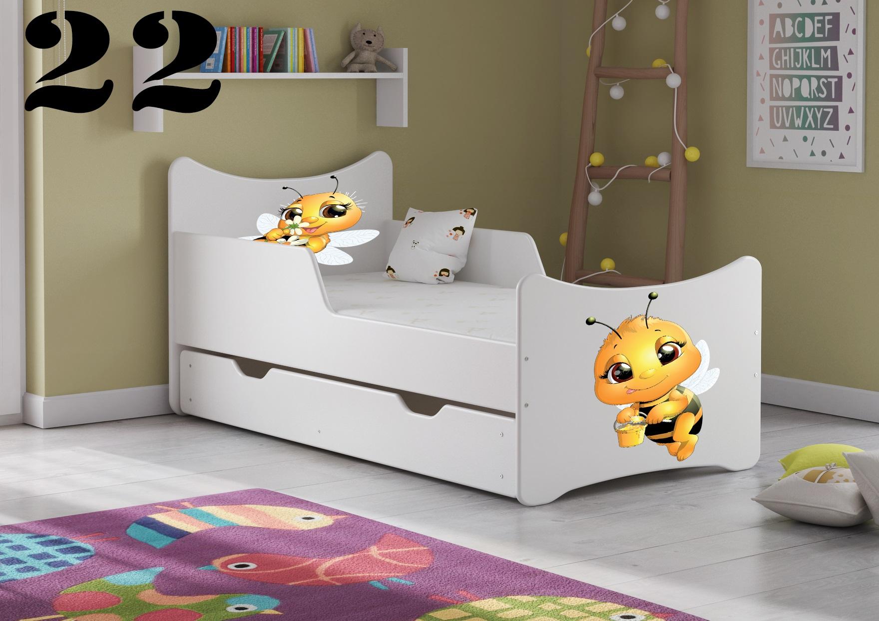 Detská posteľ SMB - zvieratá Prevedenie: Obrázok č.22