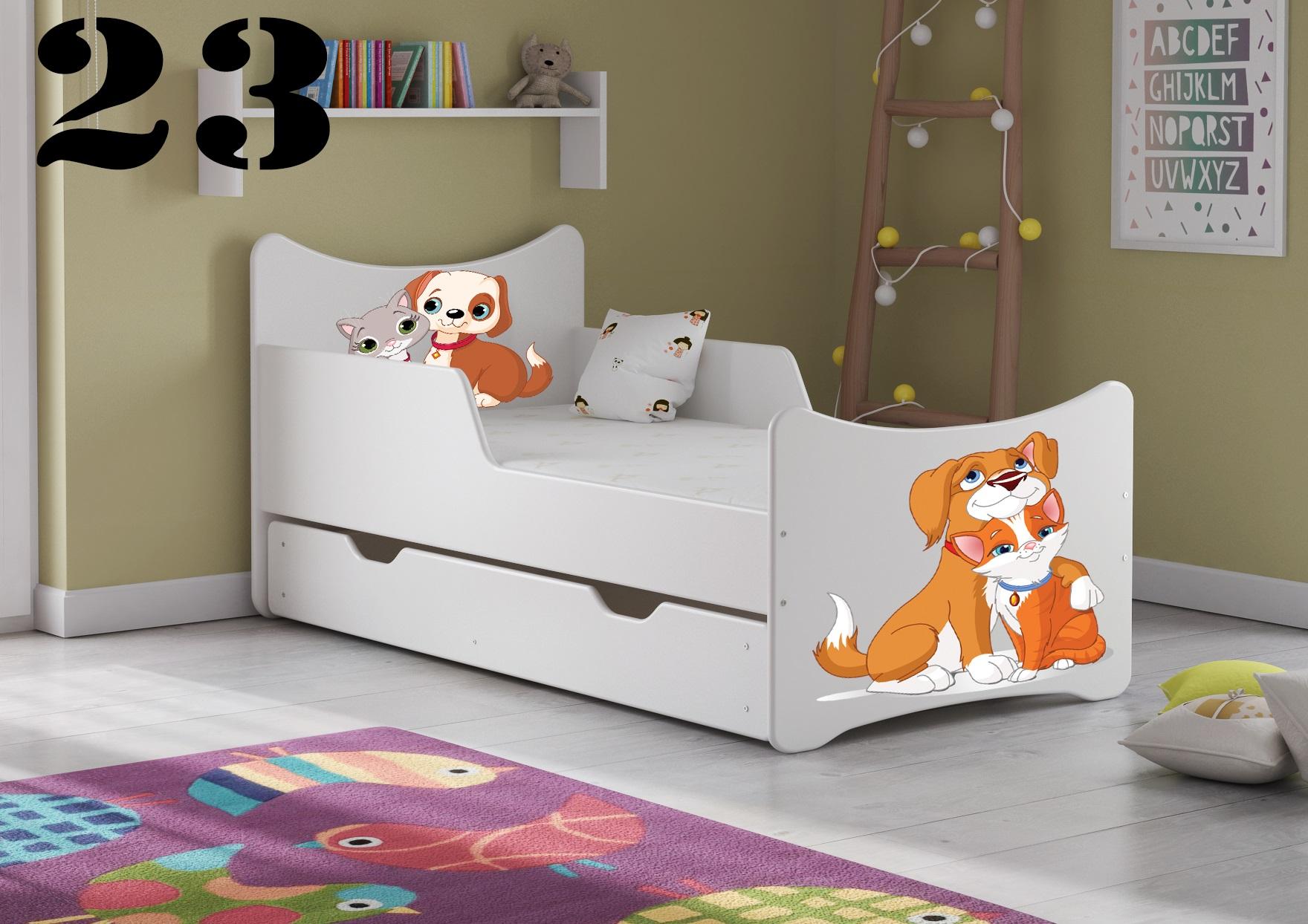 Detská posteľ SMB - zvieratá Prevedenie: Obrázok č.23
