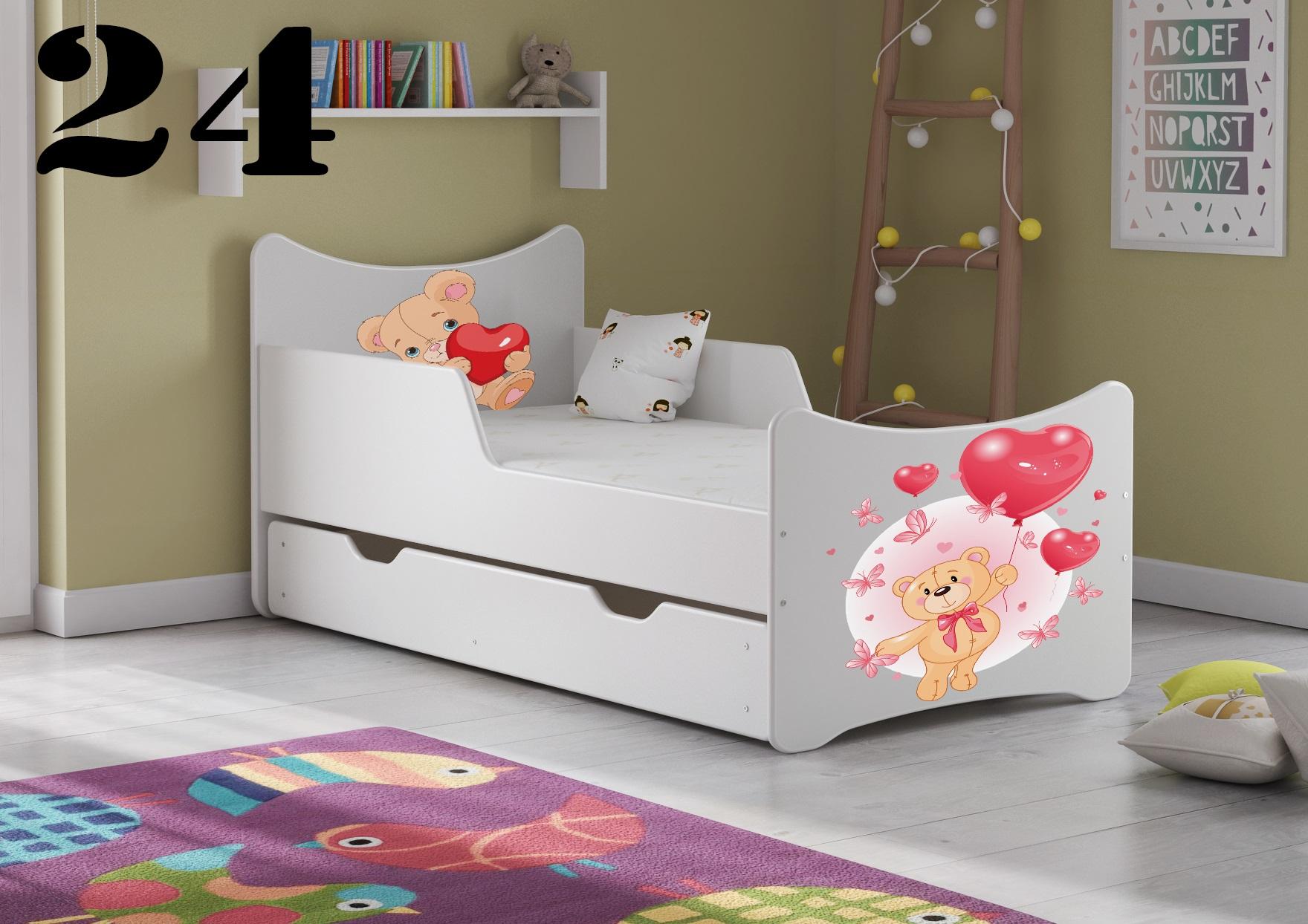 Detská posteľ SMB - zvieratá Prevedenie: Obrázok č.24