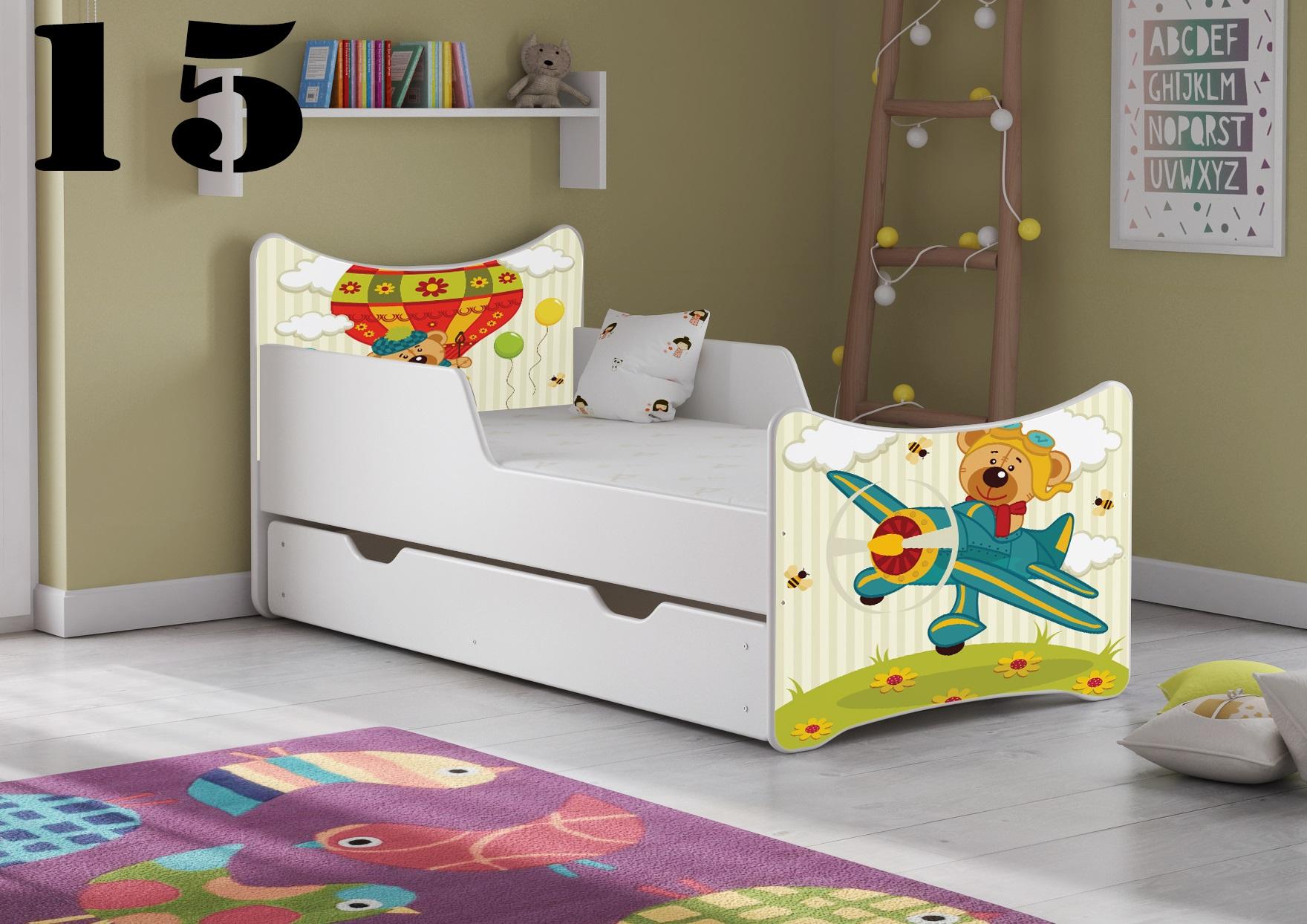 Detská posteľ SMB - zvieratá Prevedenie: Obrázok č.15