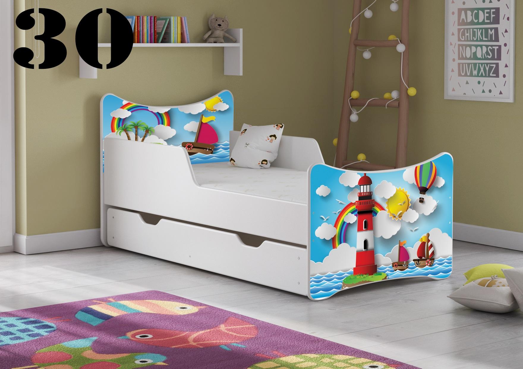 Detská posteľ SMB Pes a mačka 16 Prevedenie: Obrázok č.30